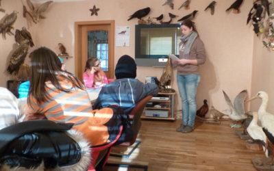 Wildtierschutz-AG überreicht Spende